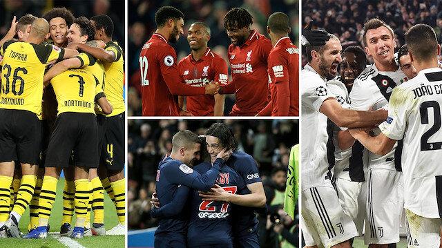 Avrupa'da 5 takım yenilgi yüzü görmedi