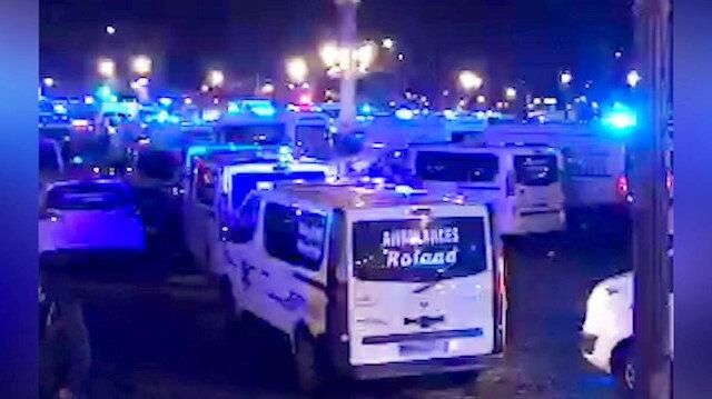 Fransa durulmuyor: Şimdi de ambulans şoförleri eylemde