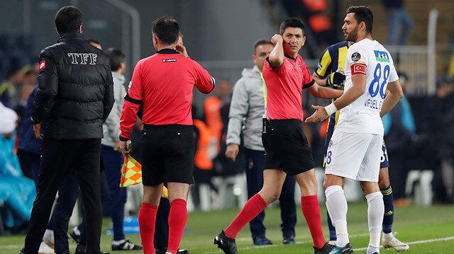 Yaşar Kemal Uğurlu, Fenerbahçe maçındaki iptal edilen golde verdiği kararla tartışmalara neden oldu.