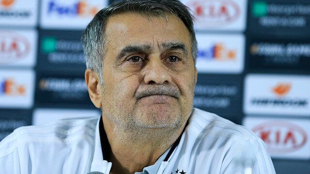 Beşiktaş Teknik Direktörü Şenol Güneş, maç sonu basın toplantısında konuştu.