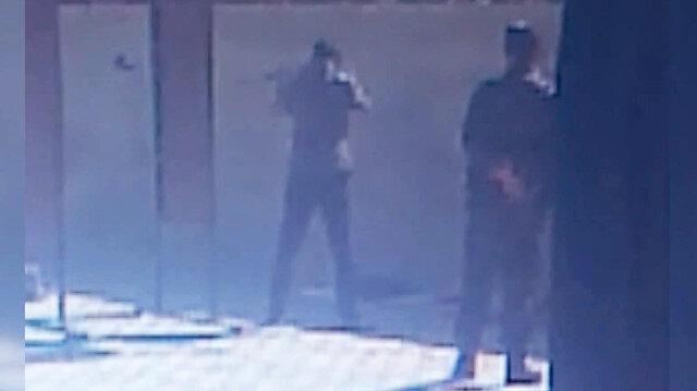 FETÖ'cü polis müdürü oğluna silah talimi yaptırmış