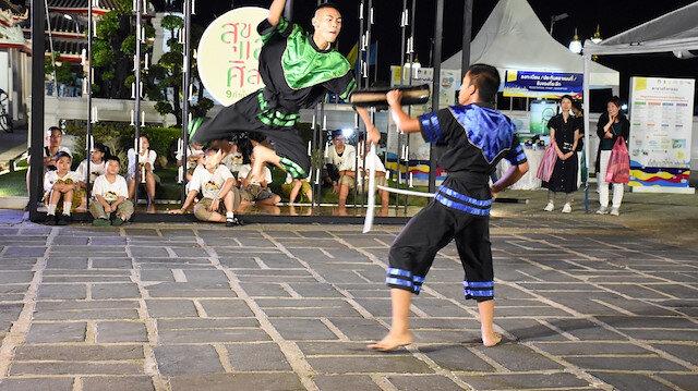 """مصارعة """" كرابي كرابونج"""" التقليدية في تايلاند"""