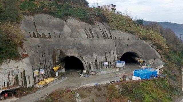68 yıllık hayal gerçek oluyor Salarha Tüneli'nde sona gelindi