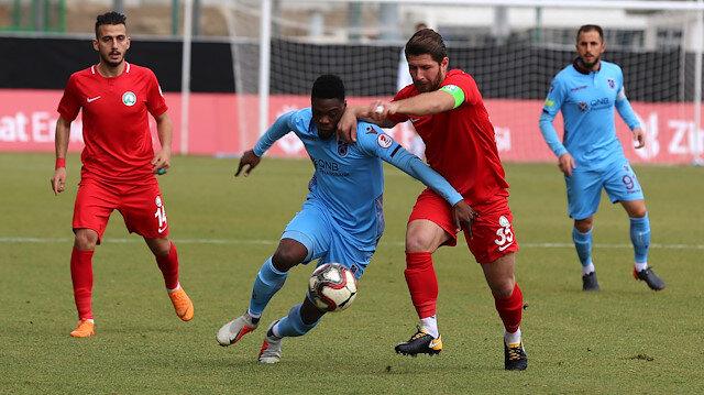 Sivas Belediye-Trabzonspor: 2-2