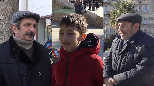 Azerbaycan Türkleri'ne 'Türkiye' soruldu: Böyle bir kardeşimiz olduğu için gurur duyuyorum