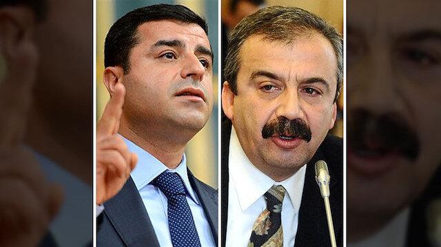 HDP eski Eş Genel Başkanı Selahattin Demirtaş ve HDP Ankara eski Milletvekili Sırrı Süreyya Önder