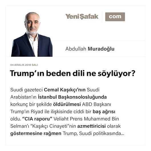Trump'ın beden dili ne söylüyor?