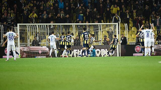 Harun, Diagne'nin penaltısını kurtardı, dönen topu Eduok gol yaptı ancak VAR incelemesi sonucu ceza alanına erken girdiği için iptal oldu.