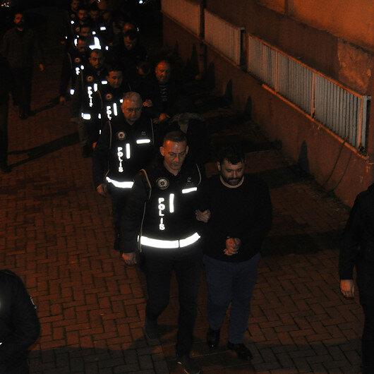 Bartın'da suç örgütü operasyonu: 13 gözaltı