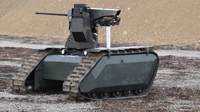 İnsanız tank için çalışmalar devam ediyor.