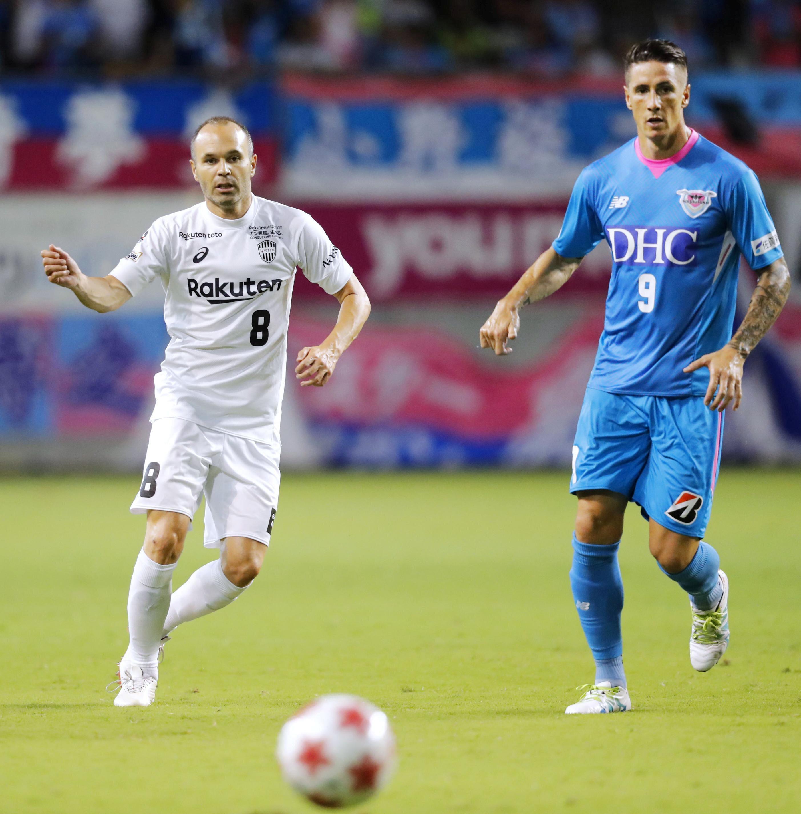 Barcelona'nın eski yıldızı, kariyerini Japonya'da sürdürüyor.