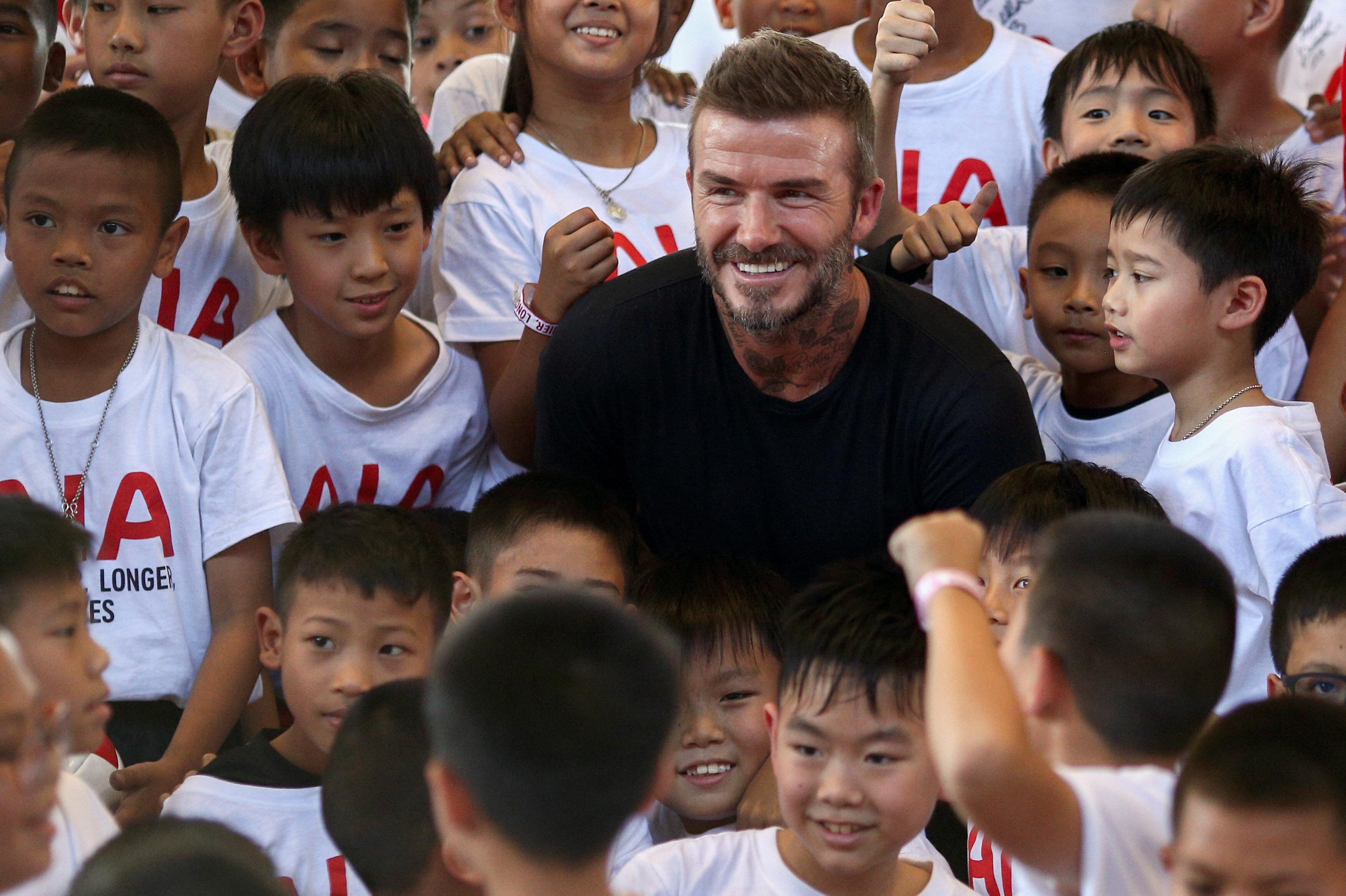 David Beckham futbol çatısı altında farklı projelerle karşımıza çıkıyor.