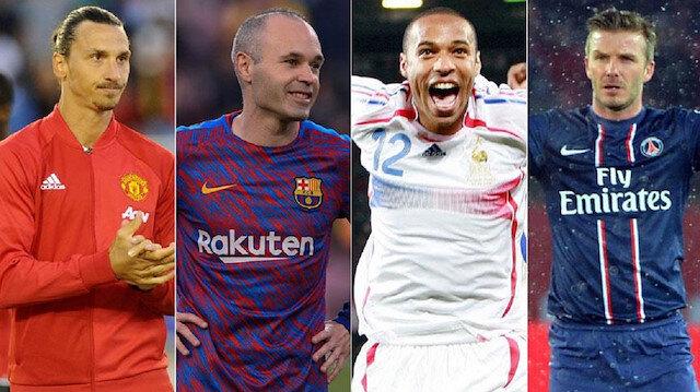 Dünya futboluna damga vurup yılın futbolcusu seçilemediler
