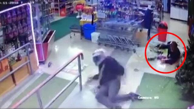 Öldürdüğünü sandığı market sahibi tarafından kurşuna dizildi!