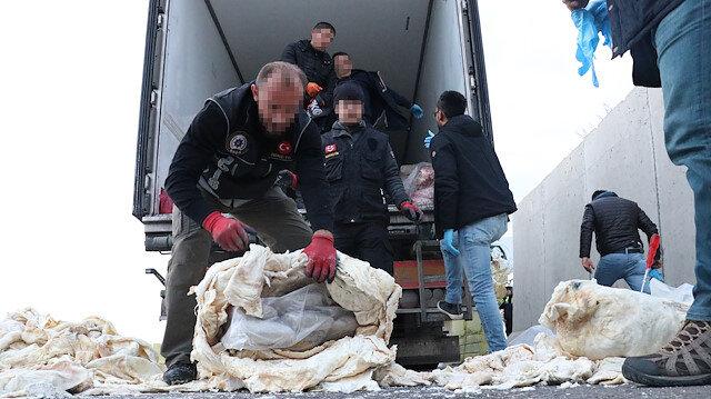 Erzincan'da uyuşturucu tacirlerine büyük darbe
