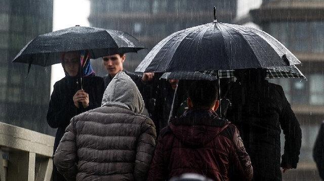 İstanbul ve 7 ile yağış uyarısı
