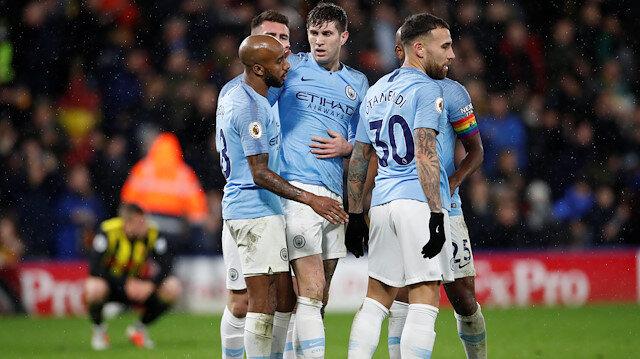 Manchester City, ligde namağlup lider konumda.