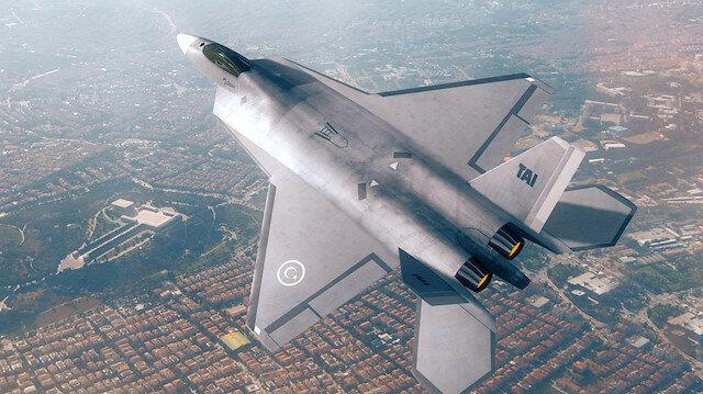 Milli savaş uçağı rüzgar tünelinde
