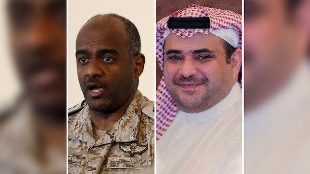 Suudi İstihbaratı eski Başkan Yardımcısı Ahmed Asiri ve Veliaht Prens'in eski danışmanı Suud El Kahtani