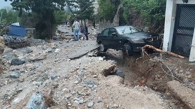 Cyprus residents have reported virtually uninterrupted rain since early Tuesday.