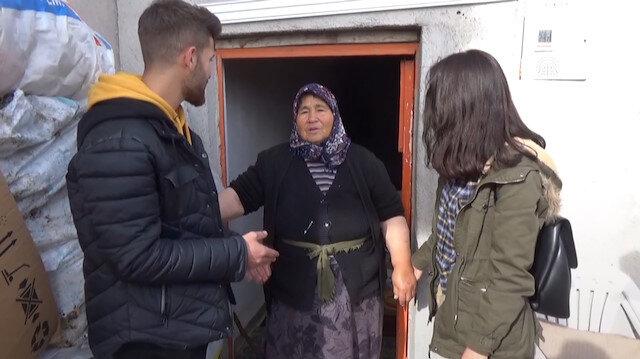 Haluk Leventten hindileri çalınan kadına yardım eli