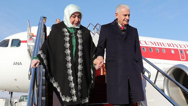 TBMM Başkanı Binali Yıldırım ve eşi Semiha Yıldırım