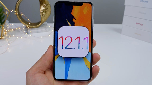 Apple iOS 12.1.1 güncellemesini yayınladı