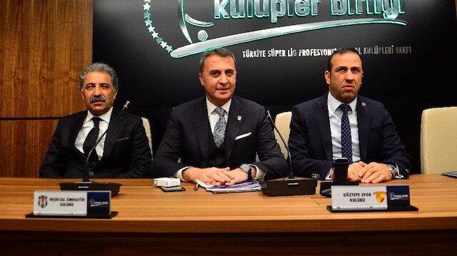 Kulüpler Birliği Vakfı, gündem maddelerini görüşmek üzere toplantı yaptı.