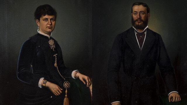 Elise Fernandez Kamondo ve Nissim de Kamondo