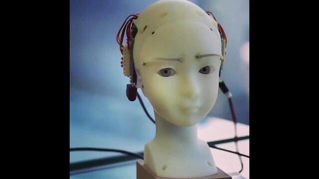 Mona Lisa gülüşünü taklit edebilen robot