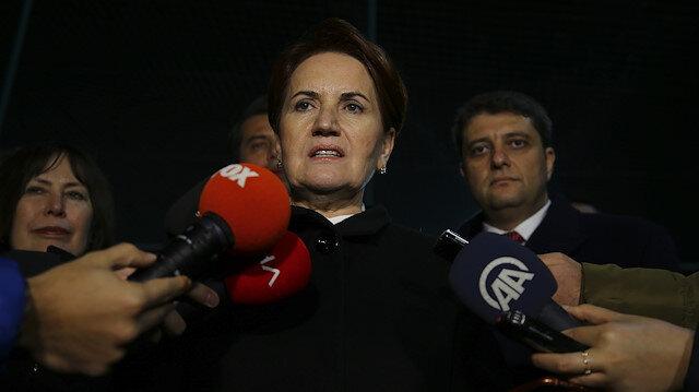 Akşener'den CHP'ye mesaj: Rest mi geri adım mı?