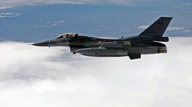 Arşiv: TSK, Irak'ın kuzeyine hava harekatı düzenledi.