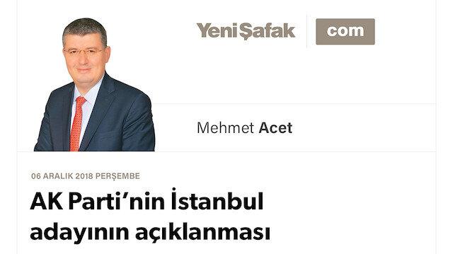 AK Parti'nin İstanbul adayının açıklanması neden ertelendi?