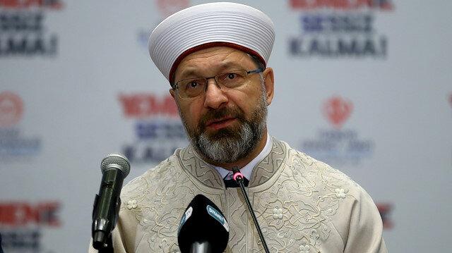 Diyanet İşleri Başkanı Prof. Dr. Ali Erbaş