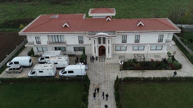 Gazeteci Cemal Kaşıkçı cinayetine ilişkin Yalova'da arama yapılan Suudilere ait villa.