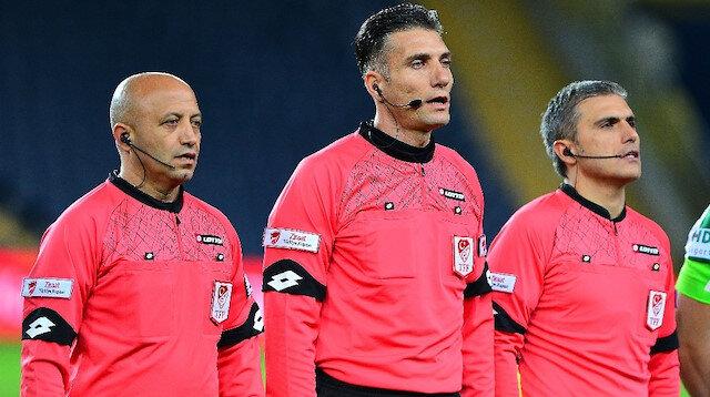 Özgür Yankaya, Giresunspor lehine vermediği penaltıyla Karadeniz ekibinin futbolcularının tepkisini çekti.