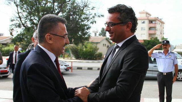 Arşiv: Cumhurbaşkanı Yardımcısı Fuat Oktay, KKTC Başbakanı Tufan Erhürman