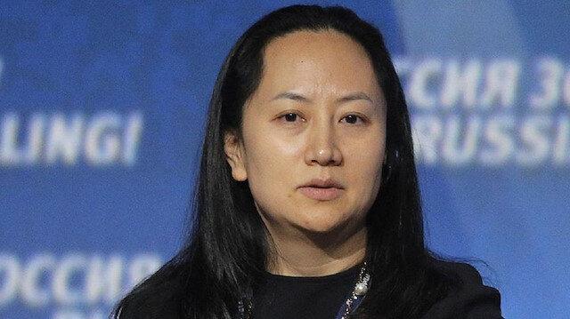 منغ وانزهو المديرة المالية في شركة هواوي الصينية