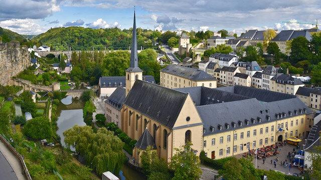 Lüksemburg'da 110 bin kişi yaşıyor.