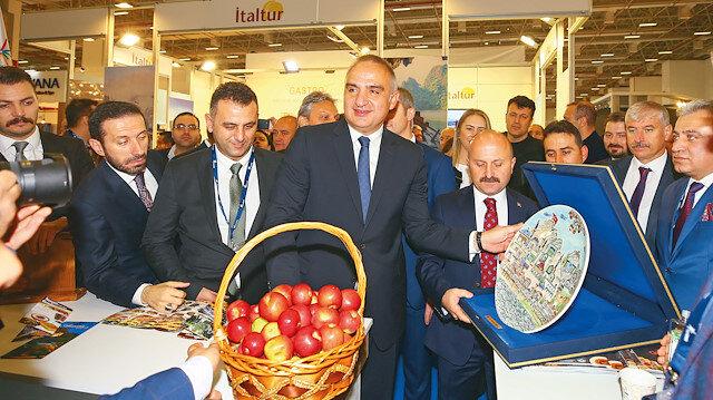 Kültür ve Turizm Bakanı Mehmet Nuri Ersoy,