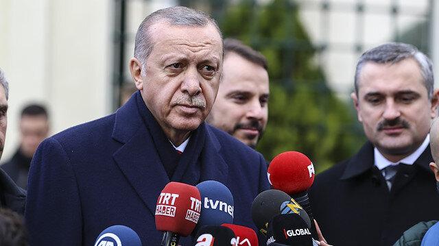 Erdoğan: Teknik çalışmalar tamamlanınca Bahçeli ile görüşebiliriz