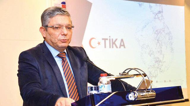 """TİKA Başkan Yardımcısı  Ali Maskan,""""Gönül Coğrafyamızda Ayağa Kalkan Tarihimiz"""" Konferansı'nda konuştu."""
