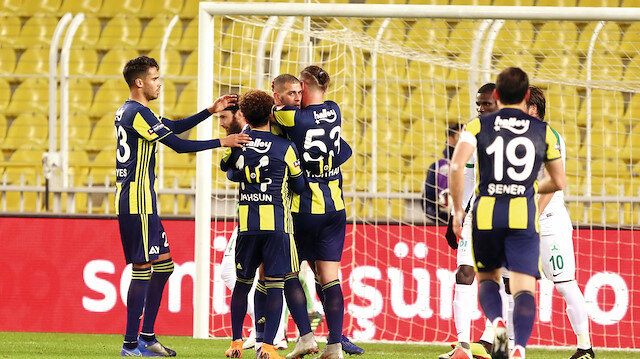 Fenerbahçe evinde ağırladığı TFF 1. Lig ekibi Giresunspor'u 1-0 yendi.