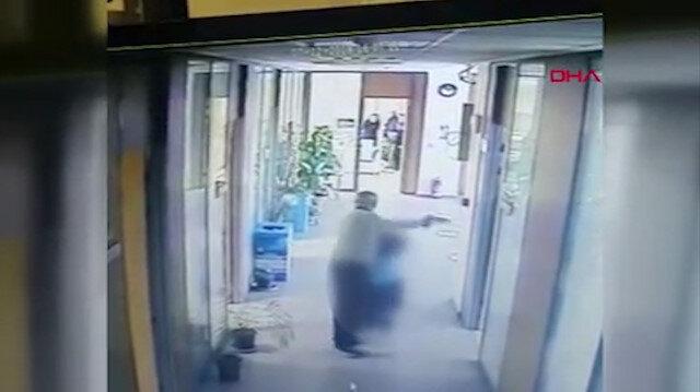 Çukurova Belediyesinde silahlı saldırı anı anbean kamerada