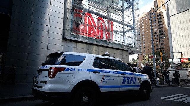 CNN'in canlı yayınında bomba ihbarı paniğe neden oldu