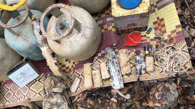 Bitlis'te PKK'ya ait patlayıcı malzemeleri ele geçirildi