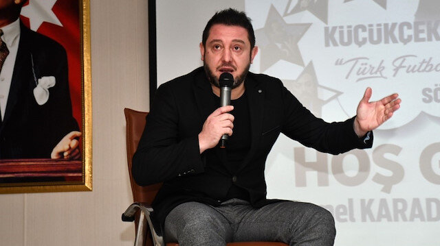 Beşiktaş'ın eski futbolcusu Nihat Kahveci.