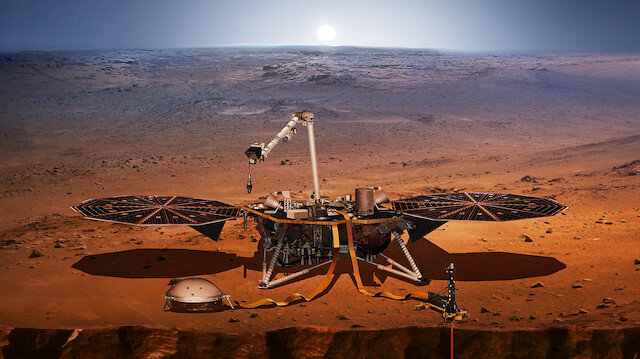 NASA'nın InSight aracı geçtiğimiz hafta Mars yüzeyine iniş yapmıştı.