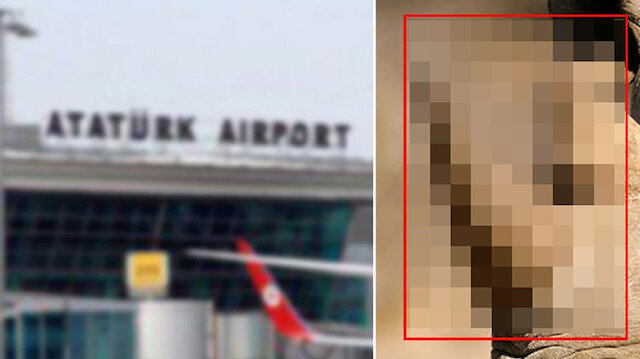 Atatürk Havalimanı'nda ele geçirildi: Piyasa 12 milyon lira değerinde