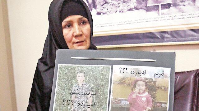 """Çin yönetimi 2 çocuk sınırını aştığı gerekçesiyle Doğu Türkistanlı 2 anneye 7 yıl hapis cezası verdi. Türkiye'ye sığınan anneler """"Gitmektense ölmeyi yeğleriz"""" dedi."""